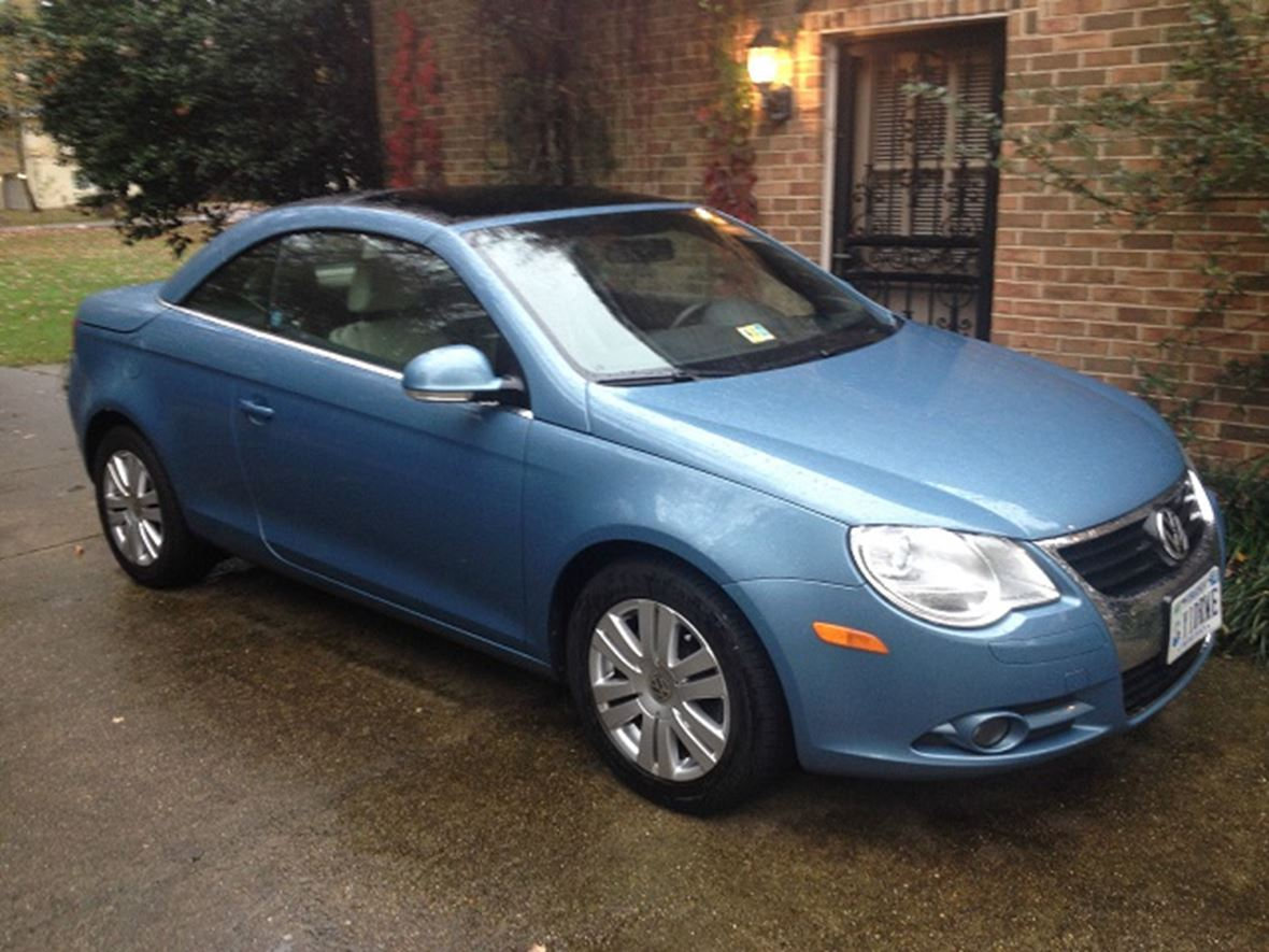 volkswagen eos  sale  owner  richmond va