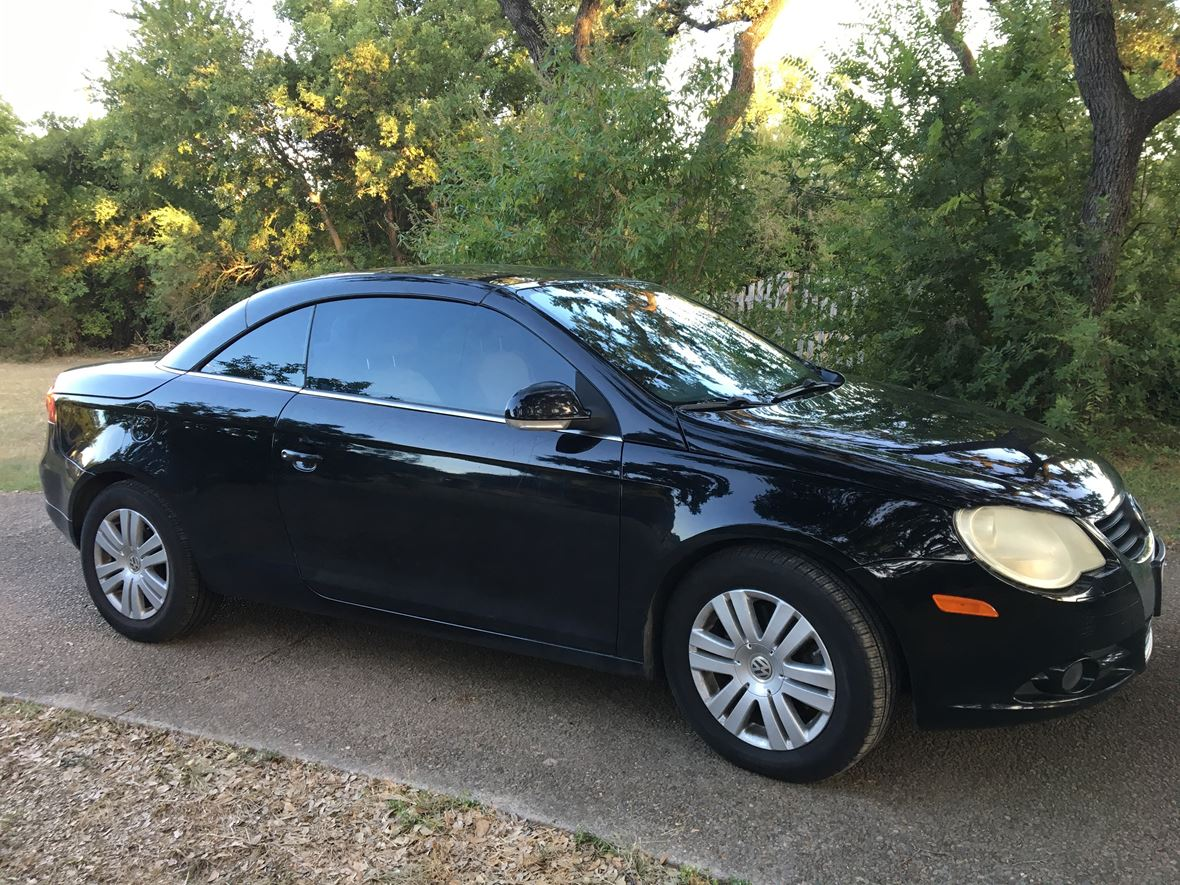 2008 volkswagen eos for sale by owner in san antonio tx 78255. Black Bedroom Furniture Sets. Home Design Ideas