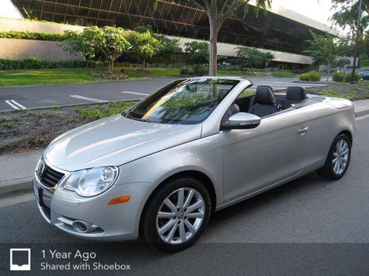 2009 volkswagen eos for sale by owner in raleigh nc 27606. Black Bedroom Furniture Sets. Home Design Ideas