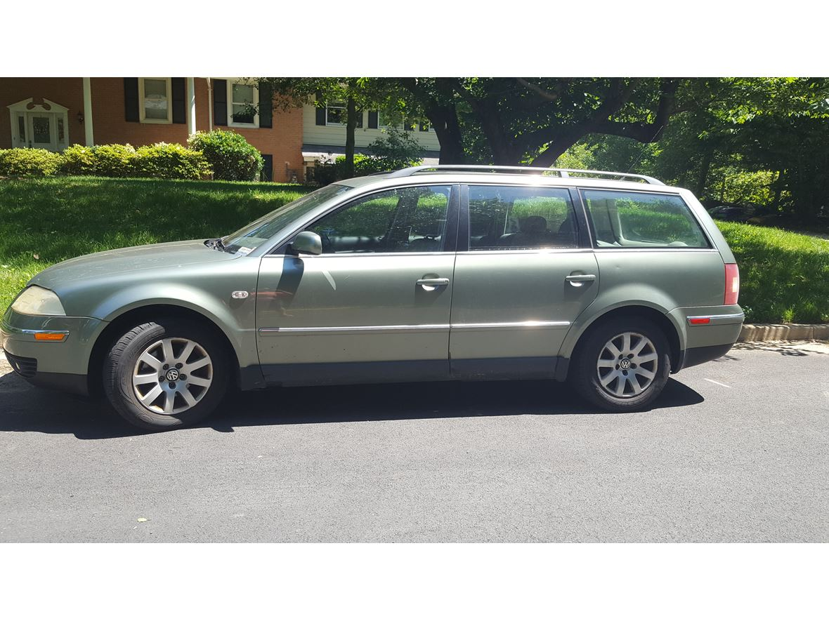 Used Cars For Sale In Northern Va: 2003 Volkswagen Passat For Sale By Private Owner In